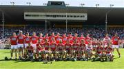 18 June 2017; The Cork squad before the Munster GAA Hurling Senior Championship Semi-Final match between Waterford and Cork at Semple Stadium in Thurles, Co Tipperary.  Photo by Ray McManus/Sportsfile
