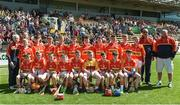 18 June 2017; Horeswood, Co Wexford before the Division 5 Final between Feathar-St Mogues, Co Wexford and Horsewood, Co. Wexfordat the John West Féile na nGael national competition which took place this weekend across Carlow, Kilkenny and Waterford. This is the second year that the Féile na nGael and Féile Peile na nÓg have been sponsored by John West, one of the world's leading suppliers of fish. The competition gives up-and-coming GAA superstars the chance to participate and play in their respective Féile tournament, at a level which suits their age, skills and strengths. Photo by Matt Browne/Sportsfile