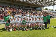 18 June 2017; The Kanturk GAA, Club, Co. Cork team before the Division 6 Final at the John West Féile na nGael national competition which took place this weekend across Carlow, Kilkenny and Waterford. This is the second year that the Féile na nGael and Féile Peile na nÓg have been sponsored by John West, one of the world's leading suppliers of fish. The competition gives up-and-coming GAA superstars the chance to participate and play in their respective Féile tournament, at a level which suits their age, skills and strengths. Photo by Matt Browne/Sportsfile