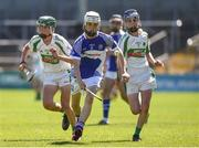 18 June 2017; Ryan Cullen of Oylegate-Glenbrien, Co. Wexford in action against Kanturk GAA, Club, Co. Cork during the Division 6 Final at the John West Féile na nGael national competition which took place this weekend across Carlow, Kilkenny and Waterford. This is the second year that the Féile na nGael and Féile Peile na nÓg have been sponsored by John West, one of the world's leading suppliers of fish. The competition gives up-and-coming GAA superstars the chance to participate and play in their respective Féile tournament, at a level which suits their age, skills and strengths. Photo by Matt Browne/Sportsfile