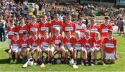 18 June 2017; The Feathar-St Mogues, Co Wexford team before the Division 5 Final between Feathar-St Mogues, Co Wexford and Horsewood, Co. Wexfordat the John West Féile na nGael national competition which took place this weekend across Carlow, Kilkenny and Waterford. This is the second year that the Féile na nGael and Féile Peile na nÓg have been sponsored by John West, one of the world's leading suppliers of fish. The competition gives up-and-coming GAA superstars the chance to participate and play in their respective Féile tournament, at a level which suits their age, skills and strengths. Photo by Matt Browne/Sportsfile