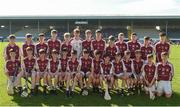 18 June 2017; The Dicksboro, Co. Kilkenny team before the John West Féile na nGael national competition which took place this weekend across Carlow, Kilkenny and Waterford. This is the second year that the Féile na nGael and Féile Peile na nÓg have been sponsored by John West, one of the world's leading suppliers of fish. The competition gives up-and-coming GAA superstars the chance to participate and play in their respective Féile tournament, at a level which suits their age, skills and strengths. Photo by Matt Browne/Sportsfile