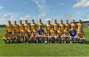 18 June 2017; Roscommon team during the Connacht GAA Football Senior Championship Semi-Final match between Roscommon and Leitrim at Dr Hyde Park in Roscommon. Photo by David Maher/Sportsfile