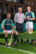 19 June 2017; As a long-standing sponsor of the GAA Hurling All-Ireland Senior Championship, Centra today launched #WeAreHurling, which celebrates the passion displayed by all of those in Ireland's collective hurling community. #WeAreHurling reinforces Centra's commitment to local communities across Ireland by shining a light on the many people who devote their lives to the game – making our national sport a pillar of Irish pride. Pictured today in attendance are, from left, Kilkenny hurler Michael Fennelly, former Kilkenny All-Ireland winner and uncle to Michael Fennelly, Liam Fennelly, and former Kilkenny hurler and ten-time All-Ireland winner Henry Shefflin, during the Centra Hurling Media Launch at Smithfield Square & The Lighthouse Cinema, in Dublin 7. Photo by Seb Daly/Sportsfile
