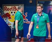 10 June 2017; Ireland coach Ronan O'Gara ahead of the international match between Ireland and USA at the Red Bull Arena in Harrison, New Jersey, USA. Photo by Ramsey Cardy/Sportsfile