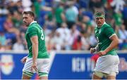 10 June 2017; Jack Conan, left, and Josh van der Flier of Ireland during the international match between Ireland and USA at the Red Bull Arena in Harrison, New Jersey, USA. Photo by Ramsey Cardy/Sportsfile