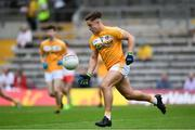 18 June 2017; Eoghan Mccabe of Antrim during the Ulster Minor Football Championship Semi-Final match between Derry and Antrim at St Tiernach's Park in Clones, Co. Monaghan. Photo by Ramsey Cardy/Sportsfile