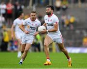 18 June 2017; Tiernan McCann of Tyrone during the Ulster GAA Football Senior Championship Semi-Final match between Tyrone and Donegal at St Tiernach's Park in Clones, Co. Monaghan. Photo by Ramsey Cardy/Sportsfile