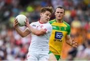 18 June 2017; Mark Bradley of Tyrone during the Ulster GAA Football Senior Championship Semi-Final match between Tyrone and Donegal at St Tiernach's Park in Clones, Co. Monaghan. Photo by Ramsey Cardy/Sportsfile