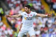18 June 2017; Mattie Donnelly of Tyrone during the Ulster GAA Football Senior Championship Semi-Final match between Tyrone and Donegal at St Tiernach's Park in Clones, Co. Monaghan. Photo by Ramsey Cardy/Sportsfile