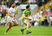 18 June 2017; Cian Mulligan of Donegal during the Ulster GAA Football Senior Championship Semi-Final match between Tyrone and Donegal at St Tiernach's Park in Clones, Co. Monaghan. Photo by Ramsey Cardy/Sportsfile
