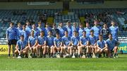 18 June 2017; Dublin team ahead of the Leinster U17 Hurling Championship Final match between Dublin and Kilkenny at O'Moore Park in Portlaoise, Co Laoise Photo by Seb Daly/Sportsfile