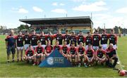 24 June 2017; The North Cork squad before the Bank of Ireland Celtic Challenge Corn John Scott Final match between Antrim and North Cork at Netwatch Cullen Park in Carlow. Photo by Matt Browne/Sportsfile