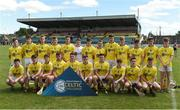24 June 2017; The Antrim squad before the Bank of Ireland Celtic Challenge Corn John Scott Final match between Antrim and North Cork at Netwatch Cullen Park in Carlow. Photo by Matt Browne/Sportsfile