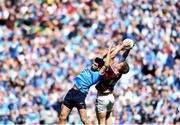 25 June 2017; John Heslin of Westmeath in action against Cian O'Sullivan of Dublin during the Leinster GAA Football Senior Championship Semi-Final match between Dublin and Westmeath at Croke Park in Dublin. Photo by Eóin Noonan/Sportsfile
