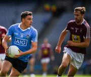25 June 2017; Paddy Andrews of Dublin in action against Kevin Maguire of Westmeath during the Leinster GAA Football Senior Championship Semi-Final match between Dublin and Westmeath at Croke Park in Dublin. Photo by Ray McManus/Sportsfile