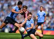 25 June 2017; Michael Fitzsimons of Dublin, right, and Cian O'Sullivan in action against John Heslin of Westmeath during the Leinster GAA Football Senior Championship Semi-Final match between Dublin and Westmeath at Croke Park in Dublin. Photo by Eóin Noonan/Sportsfile