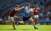 25 June 2017; Paddy Andrews of Dublin in action against Jamie Gonoud of Westmeath during the Leinster GAA Football Senior Championship Semi-Final match between Dublin and Westmeath at Croke Park in Dublin. Photo by Ray McManus/Sportsfile
