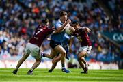 25 June 2017; Eric Lowndes of Dublin in action against James Dolan of Westmeath during the Leinster GAA Football Senior Championship Semi-Final match between Dublin and Westmeath at Croke Park in Dublin. Photo by Daire Brennan/Sportsfile