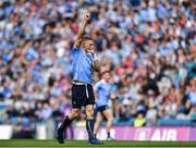25 June 2017; Eoghan O'Gara of Dublin celebrates after scoring his sides second goal during the Leinster GAA Football Senior Championship Semi-Final match between Dublin and Westmeath at Croke Park in Dublin. Photo by Eóin Noonan/Sportsfile