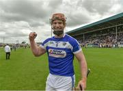 25 June 2017; Matthew Whelan of Laois celebrates following the GAA Hurling All-Ireland Senior Championship Preliminary Round match between Laois and Carlow at O'Moore Park in Portlaoise, Co. Laois. Photo by Ramsey Cardy/Sportsfile