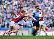 25 June 2017; Bernard Brogan of Dublin in action against Kelvin Reilly of Westmeath during the Leinster GAA Football Senior Championship Semi-Final match between Dublin and Westmeath at Croke Park in Dublin. Photo by Eóin Noonan/Sportsfile