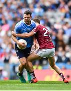 25 June 2017; Kevin McManamon of Dublin in action against Kelvin Reilly of Westmeath during the Leinster GAA Football Senior Championship Semi-Final match between Dublin and Westmeath at Croke Park in Dublin. Photo by Eóin Noonan/Sportsfile