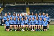 25 June 2017; The Westport, Co. Mayo team before the Girls Division 1 Shield Final at the John West Peile na nÓg national competition which took place this weekend across Cavan, Fermanagh and Monaghan. This is the second year that the Féile na nGael and Féile Peile na nÓg have been sponsored by John West, one of the world's leading suppliers of fish. The competition gives up-and-coming GAA superstars the chance to participate and play in their respective Féile tournament, at a level which suits their age, skills and strengths.   Photo by Matt Browne/Sportsfile