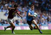 25 June 2017; Con O'Callaghan of Dublin in action against Paul Sharry of Westmeath during the Leinster GAA Football Senior Championship Semi-Final match between Dublin and Westmeath at Croke Park in Dublin. Photo by Daire Brennan/Sportsfile