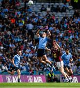 25 June 2017; Jonny Cooper of Dublin in action against John Heslin of Westmeath during the Leinster GAA Football Senior Championship Semi-Final match between Dublin and Westmeath at Croke Park in Dublin. Photo by Daire Brennan/Sportsfile