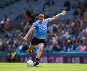 25 June 2017; Dean Rock of Dublin kicks a '45' during the Leinster GAA Football Senior Championship Semi-Final match between Dublin and Westmeath at Croke Park in Dublin. Photo by Ray McManus/Sportsfile