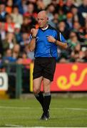 25 June 2017; Referee Cormac Reilly during the GAA Football All-Ireland Senior Championship Round 1B match between Armagh and  Fermanagh at the Athletic Grounds in Armagh. Photo by Oliver McVeigh/Sportsfile
