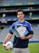 26 June 2017; Ballyboden St Endas footballer Michael Darragh Macauley at the launch of the One Club Guidelines at Croke Park in Dublin. Photo by Ramsey Cardy/Sportsfile