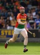 25 June 2017; Eddie Byrne of Carlow during the GAA Hurling All-Ireland Senior Championship Preliminary Round match between Laois and Carlow at O'Moore Park in Portlaoise, Co. Laois. Photo by Ramsey Cardy/Sportsfile