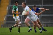 25 June 2017; Alan Mulhall of Offaly during the GAA Football All-Ireland Senior Championship Round 1B match between Offaly and Cavan at O'Connor Park in Tullamore, Co. Offaly. Photo by Ramsey Cardy/Sportsfile