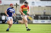 25 June 2017; John Michael Nolan of Carlow during the GAA Hurling All-Ireland Senior Championship Preliminary Round match between Laois and Carlow at O'Moore Park in Portlaoise, Co. Laois. Photo by Ramsey Cardy/Sportsfile
