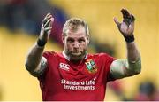 27 June 2017; James Haskell of the British & Irish Lions following the match between Hurricanes and the British & Irish Lions at Westpac Stadium in Wellington, New Zealand. Photo by Stephen McCarthy/Sportsfile