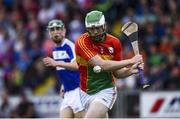 25 June 2017; Paul Doyle of Carlow during the GAA Hurling All-Ireland Senior Championship Preliminary Round match between Laois and Carlow at O'Moore Park in Portlaoise, Co. Laois. Photo by Ramsey Cardy/Sportsfile