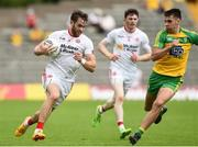 18 June 2017; Ronan McNamee of Tyrone during the Ulster GAA Football Senior Championship Semi-Final match between Tyrone and Donegal at St Tiernach's Park in Clones, Co. Monaghan. Photo by Oliver McVeigh/Sportsfile