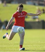 17 June 2017; Derek Crilly of Louth  during the GAA Football All-Ireland Senior Championship Round 1A match between Louth and Longford at the Gaelic Grounds in Drogheda, Co Louth. Photo by Oliver McVeigh/Sportsfile
