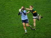 4 February 2012; Tomas Quinn, Dublin, in action against Peter Crowley, Kerry. Allianz Football League, Division 1, Round 1, Dublin v Kerry, Croke Park, Dublin. Picture credit: Ray McManus / SPORTSFILE