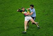 4 February 2012; Tomas O Se, Kerry, in action against Michael Darragh MacAuley, Dublin. Allianz Football League, Division 1, Round 1, Dublin v Kerry, Croke Park, Dublin. Picture credit: Ray McManus / SPORTSFILE