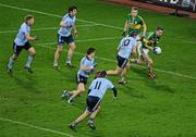 4 February 2012; Marc O Se, Kerry, supported by team-mate Peter Crowley, left, in action against Dublin's, from left, Eoghan O'Gara, Michael Darragh MacAuley, Diarmuid Connolly, Kevin McManamon and Paul Brogan. Allianz Football League, Division 1, Round 1, Dublin v Kerry, Croke Park, Dublin. Picture credit: Ray McManus / SPORTSFILE