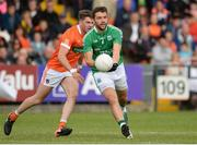25 June 2017; Ryan McCluskey of Fermanagh during the GAA Football All-Ireland Senior Championship Round 1B match between Armagh and  Fermanagh at the Athletic Grounds in Armagh. Photo by Oliver McVeigh/Sportsfile