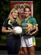 30 June 2017; The WGPA has joined force with Pat The Baker as part of a five year deal. This is the first of its kind for women in sport in Ireland and the revenue share arrangement will see a percentage of all sales go towards the WGPA Player Development Programme. Players in every county squad are now supported off the pitch through WGPA services including careers advice, scholarships, personal coaching, counselling and skills workshops, all of which helps players reach their potential in their professional and personal lives. Pictured in attendance at the launch is Kerry footballer Aislinn Desmond, right, with her sister Caitriona, at the Herbert Park Hotel in Dublin. Photo by Seb Daly/Sportsfile