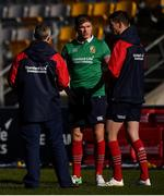 29 June 2017; Jonathan Sexton, right, Owen Farrell and attack coach Rob Howley, left, during a British and Irish Lions training session at Jerry Collins Stadium in Porirua, New Zealand. Photo by Stephen McCarthy/Sportsfile