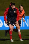29 June 2017; Jonathan Sexton and Jack Nowell, right, during a British and Irish Lions training session at Jerry Collins Stadium in Porirua, New Zealand. Photo by Stephen McCarthy/Sportsfile