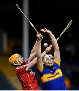29 June 2017; Anthony McKelvey of Tipperary in action against James Keating of Cork during the Electric Ireland Munster GAA Hurling Minor Championship Semi-Final match between Tipperary and Cork at Semple Stadium in Thurles, Co Tipperary. Photo by Eóin Noonan/Sportsfile