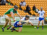 1 July 2017; Jamie Barron of Waterford in action against Sean Ryan of Offaly during the GAA Hurling All-Ireland Senior Championship Round 1 match between Offaly and Waterford at Bord na Móna O'Connor Park in Tullamore, Co Offaly. Photo by Sam Barnes/Sportsfile