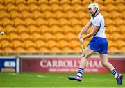 1 July 2017; Shane Bennett of Waterford shoots to score his sides first goal during the GAA Hurling All-Ireland Senior Championship Round 1 match between Offaly and Waterford at Bord na Móna O'Connor Park in Tullamore, Co Offaly. Photo by Sam Barnes/Sportsfile